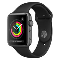 Apple Watch Nike SE GPS mm Silver Aluminium Case with Pure Platinum Black Nike Sport Band Regular MYYHNF A