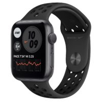 Apple Watch Nike Series  GPS mm Space Gray Aluminium Case with Anthracite Black Nike Sport Band Regular MGNF A