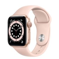 Apple Watch Series  GPS mm Gold Aluminium Case with Pink Sand Sport Band Regular MGNF A
