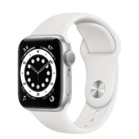 Apple Watch Series  GPS mm Silver Aluminium Case with White Sport Band Regular MGNF A