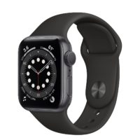 Apple Watch Series  GPS mm Space Gray Aluminium Case with Black Sport Band Regular MGNF A